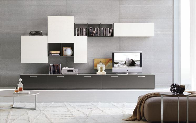 Come arredare un soggiorno in stile moderno e tecnologico ...